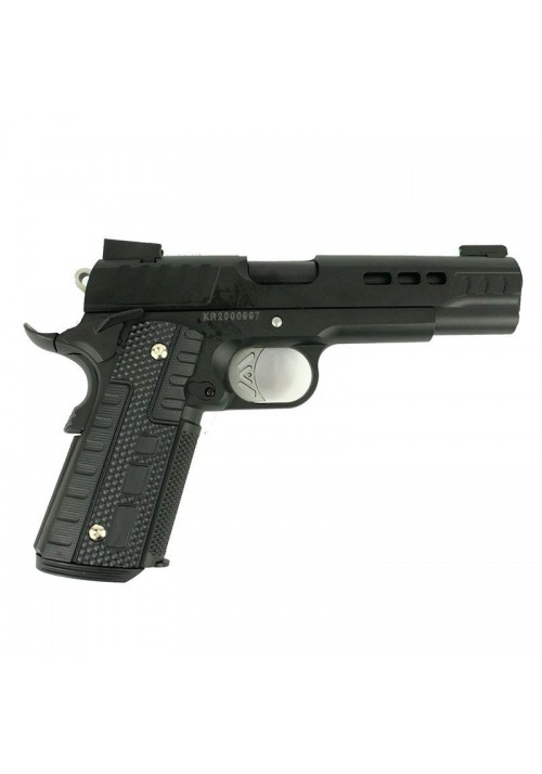 REPLIQUE DE POING AIRSOFT ASCEND KP1911 - WE BK