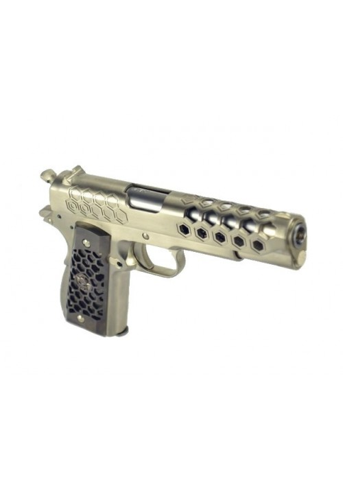 WE 1911 HEX CUT CHROME