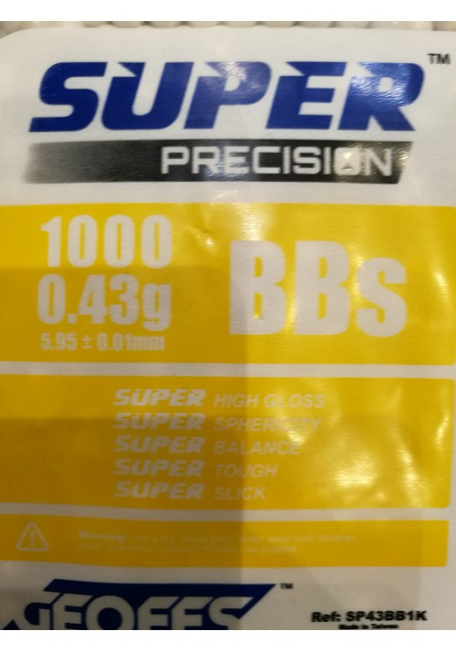 GEOFFS BILLES 0.43 SUPER PRECISION