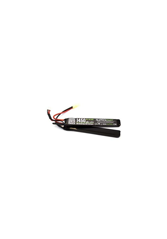 BATTERIE LIPO 2 ELEMENTS 7.4 V 1450 MAH